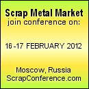 8th Scrap Metals Market conference